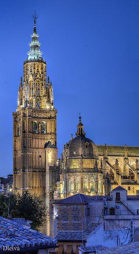 Torre de la Catedral de Toledo.