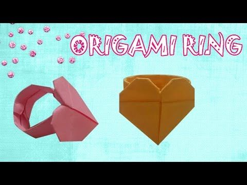 Origami Heart Ring