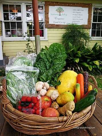 Picture of Natural Living Food Co-op large organic produce share
