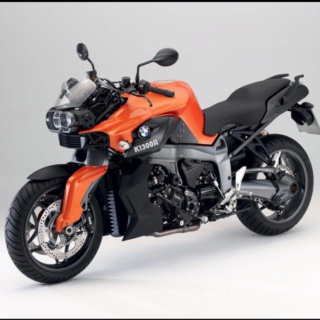 Bmw Sport Bike: BMW K1300R Orange And Black