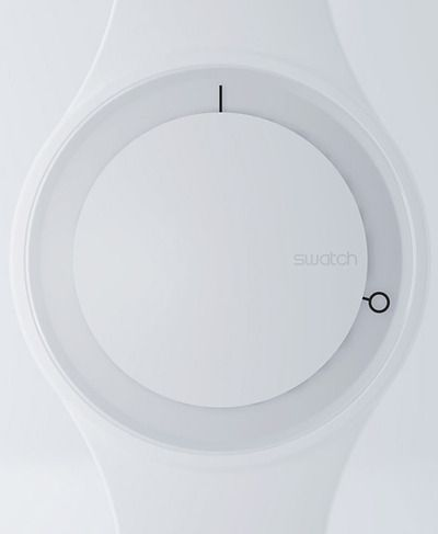 Swatch. All white