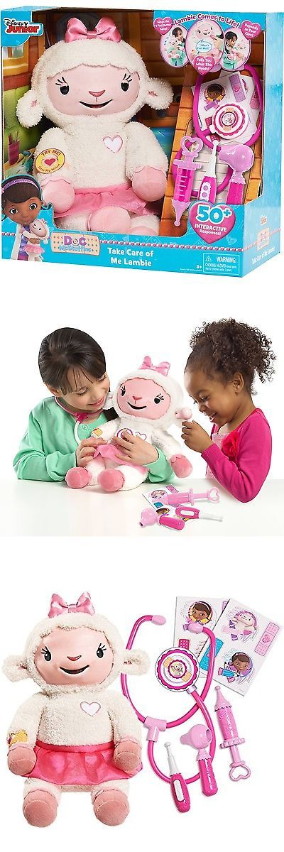 Other Disney Toys 19224: Doc Mcstuffins Take Care Of Me Lambie Interactive Plush -> BUY IT NOW ONLY: $84.18 on eBay!