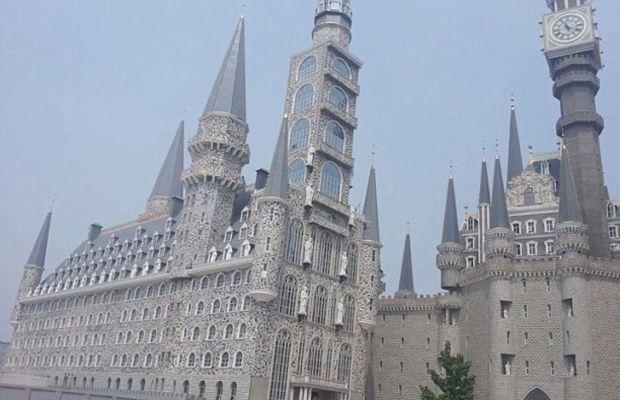 Hebei Academy of Fine Arts, aka bootleg Hogwarts University of China | Complex