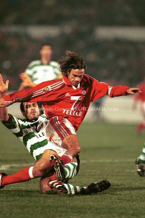 JVP Derby 19992000 imagens) Sport lisboa e benfica