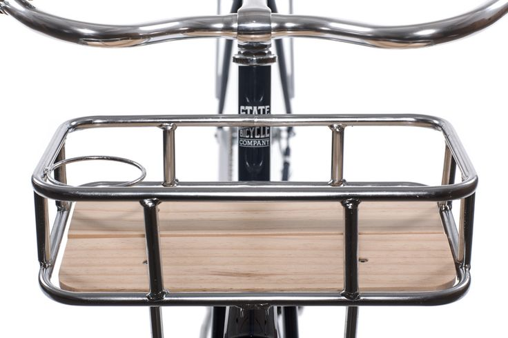 Front Basket & Rear Racks : Bike Baskets & Racks | State Bicycle Co.