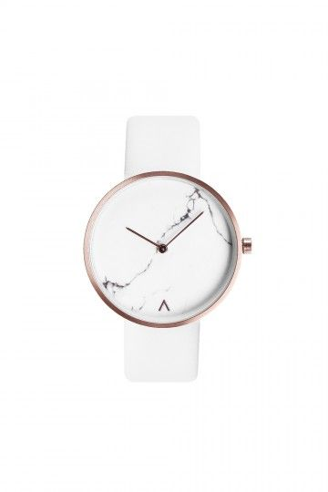 ˚Taste Products: The Real Marble Hand Watch in Creme--Seriously in love with…