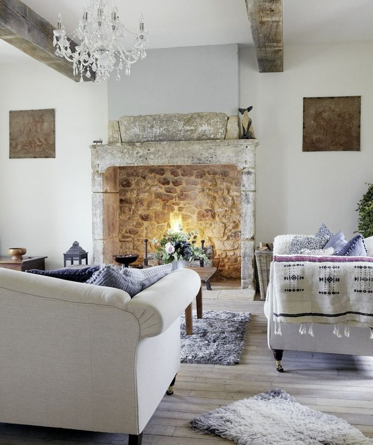 Fireplaces can really make a design statement in a house and reinforce a  certain style or look. And some of them, ones with oversized fireboxes, are  big enough to walk into (well, almost).