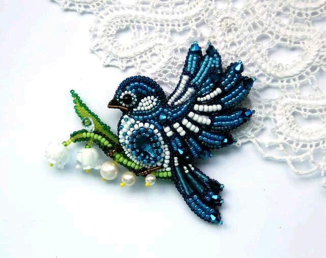 Beaded bluebird