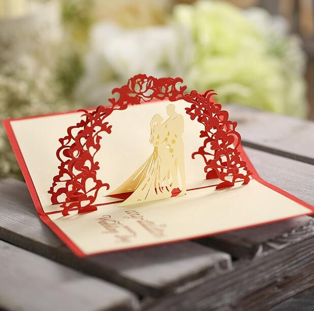 Wholesale xmas cards, a birthday card and adult birthday cards which provided by aozhouqie are all of good design from China. Get  wedding creative gifts handmade wedding invitations korean wedding card paper valentine day 3d greeting cards sale on DHgate. com.