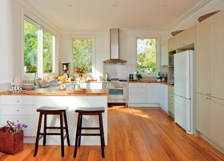 Bunnings, Hickory Maple Laminate. Kitchen LayoutsKitchen ...