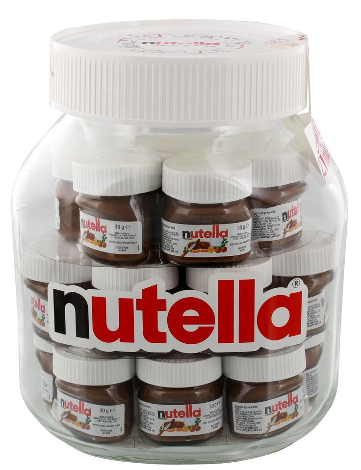 Nutella Big Jar XXL Glas 21x30g: Amazon.de: Lebensmittel & Getränke (Favorite Cake Products)