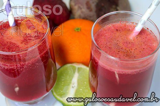 Que tal começar o dia com Suco de Beterraba Detox e ter mais disposição para as atividades do dia a dia? Além da belíssima cor, é delicioso, o suco de ...