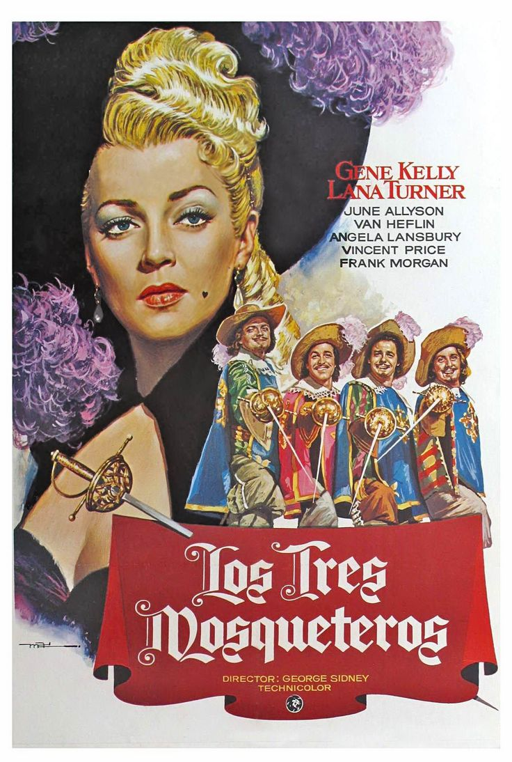 1948. Los tres mosqueteros - The Three Musketeers