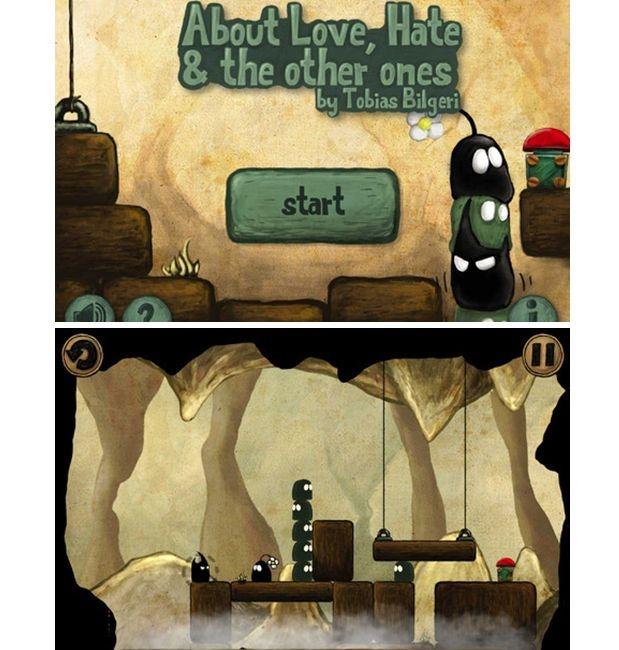 Chi ha detto che un bel #videogame deve avere per forza una grafica 3D iperrealistica? A volte bastano fantasia, senso estetico e il giusto talento per realizzare veri capolavori: #About Love, Hate and the other ones HD per #iPad ne è un esempio.