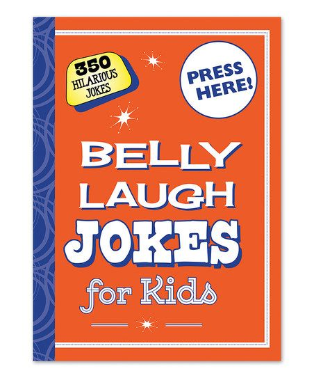 Skyhorse Publishing Belly Laugh Jokes for Kids Hardcover | zulily