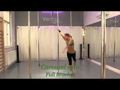 POLE DANCE: SPINS -Foundation Spins and combos
