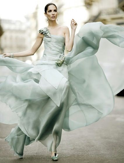 mint green wedding inspiration: Evening Dresses, Mint Green, Fashion Clothing, Pastel Colour, Weddings Dresss, Mint Dresses, Green Weddings, Green Dresses, Color Trends