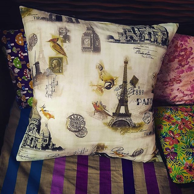 New addition to my bed .#sew #paris #chic #sewist #hobby