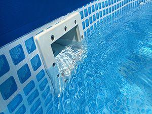 Above Ground Pool Skimmer Installed