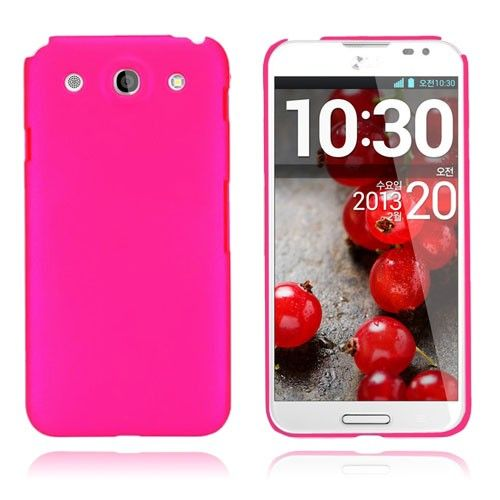 Smooth (Hot Pink) LG Optimus G Pro Deksel