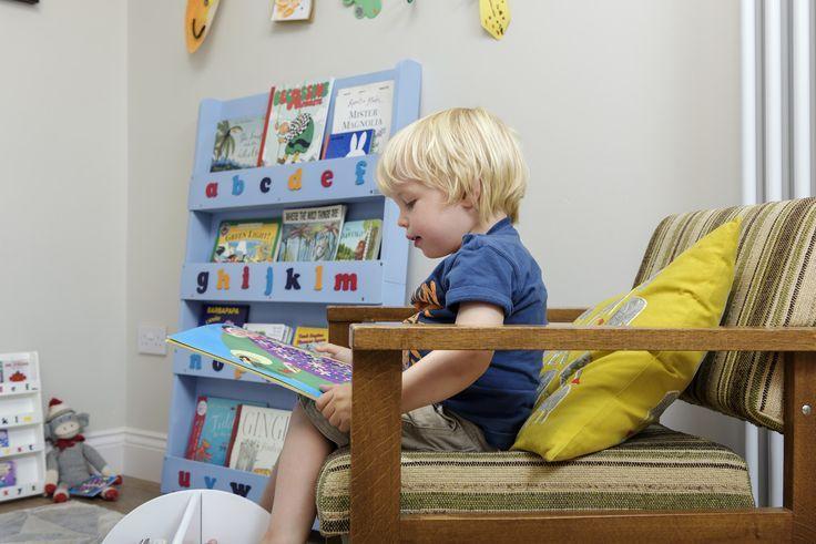 Libreria Tidy Books colore Blu