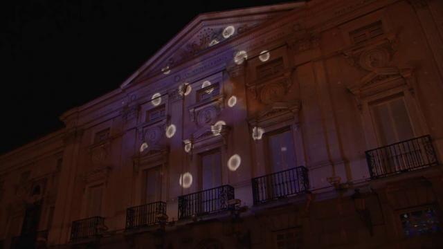 NuFormer 3D video mapping - Sony, Madrid (Plaza de Santa Ana) - May 2010 by NuFormer. www.nuformer.com | www.mocapmapping.com