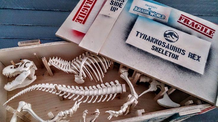 T-Rex crate!