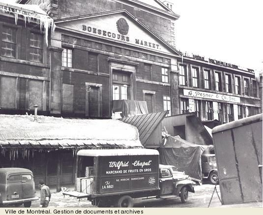 Bonsecours Market - 1950  Montreal