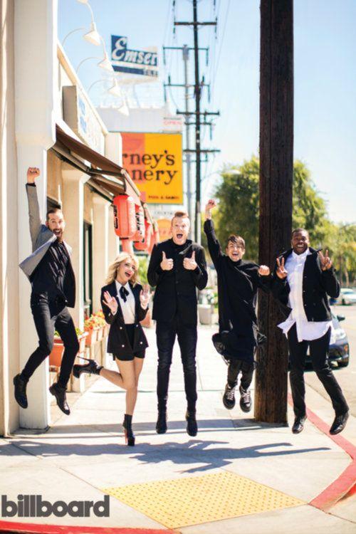 Pentatonix Billboard Shoot | Billboard