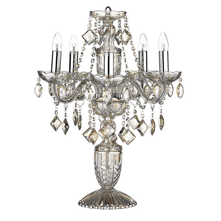 Valentine Crystal Lamp from Domayne