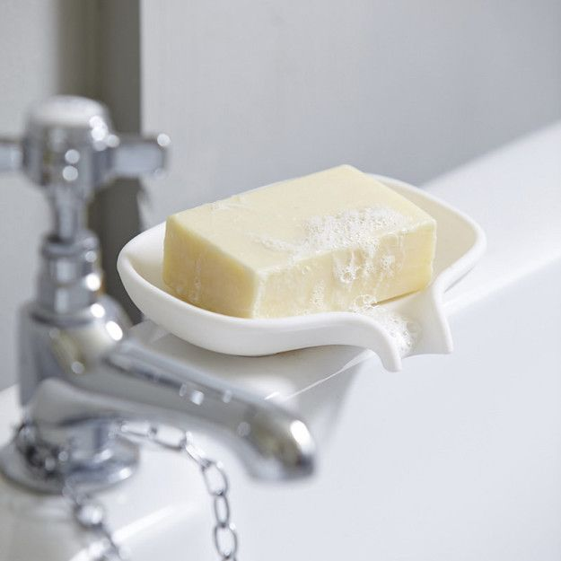 Get the most out of your soap with a saver dish. | 15 Products That Will Low-Key Change Your Life