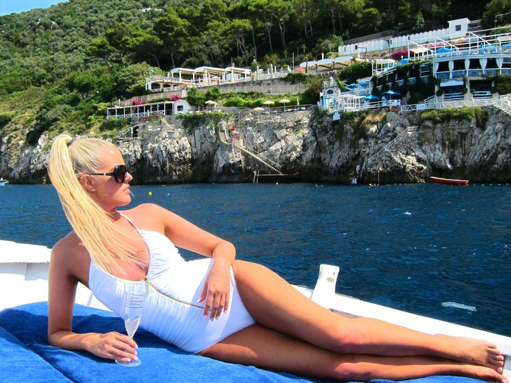 Monica @Riccio beach