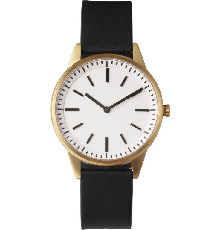 Uniform Wares250 Series Steel Wristwatch MR PORTER