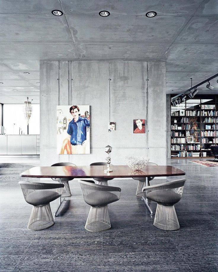 Love the look of this concrete air raid bunker transformed into a stunning residence and