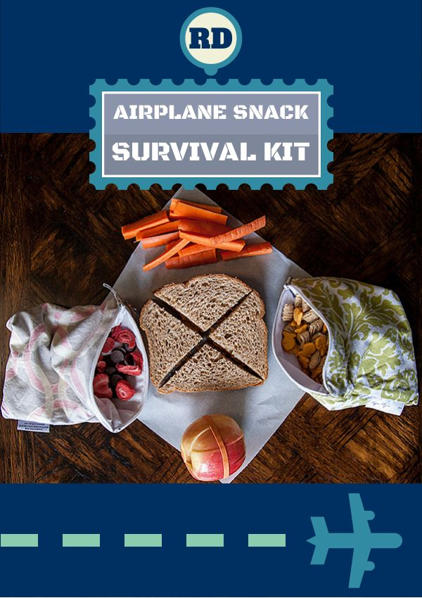 RD Airplane Snack Survival Kit   flavorrd.com