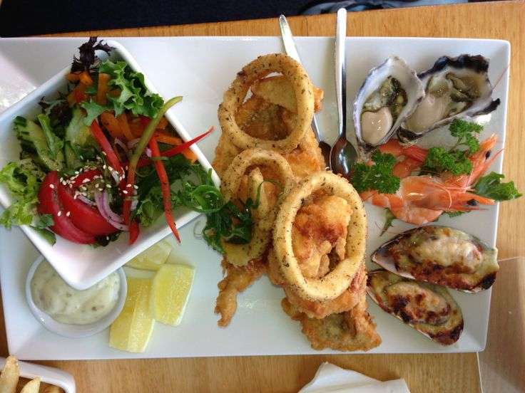 The seafood platter @ Saltwater