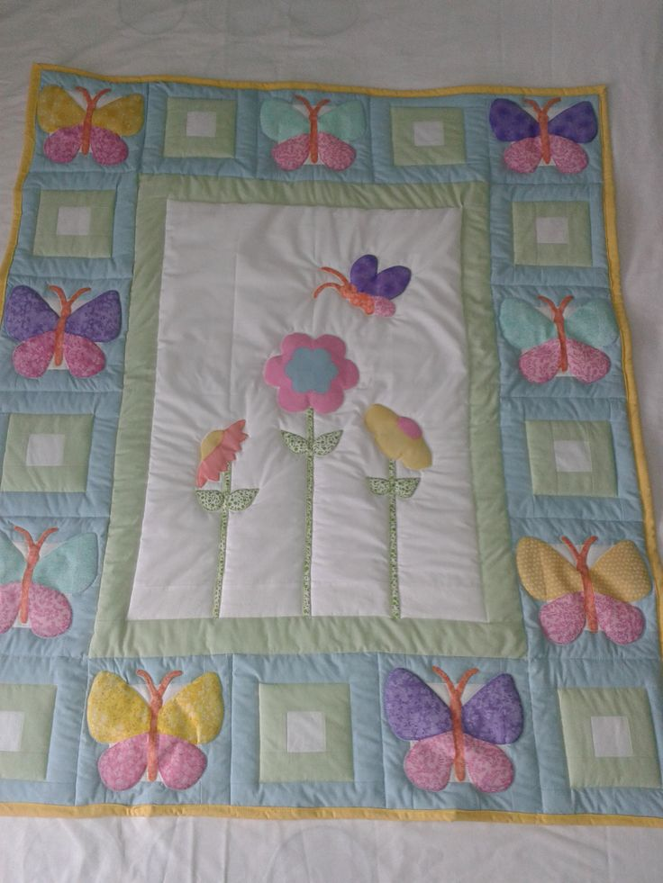17 Best Images About Machine Embroidery Baby Quilts And