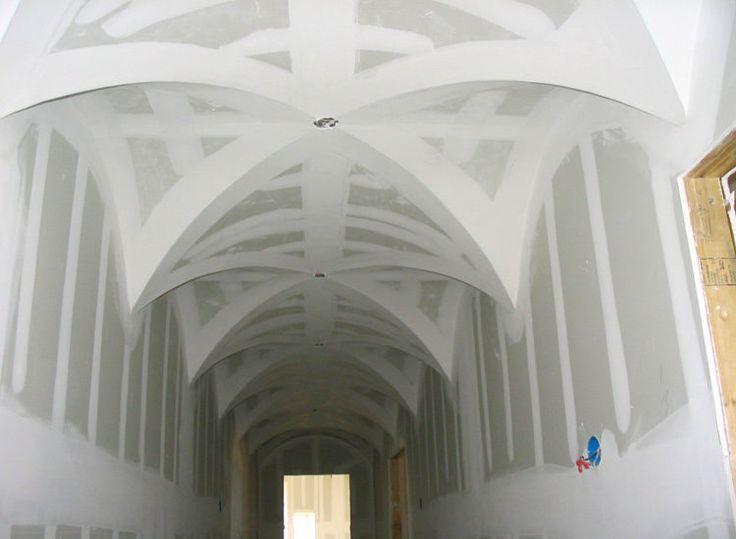 156 best groin vaulted ceiling images on pinterest for Barrel vault ceiling