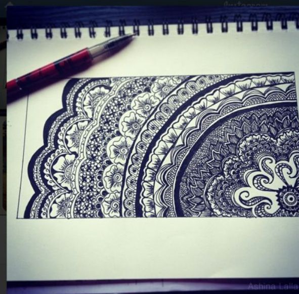 Super cool sharpie drawing