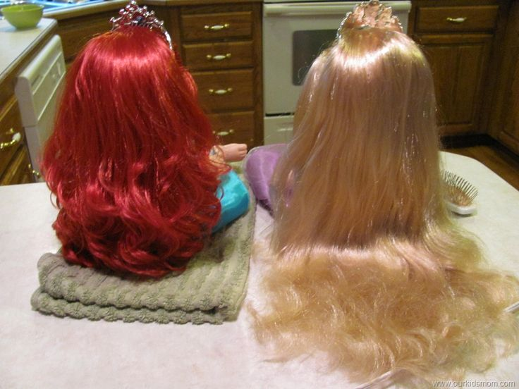 How to detangle doll hair