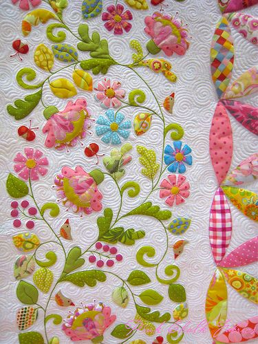"""! THank you so much for sharing... you made me smile """"Pink Chalk picture taker""""Quilt Market Spring 2012"""