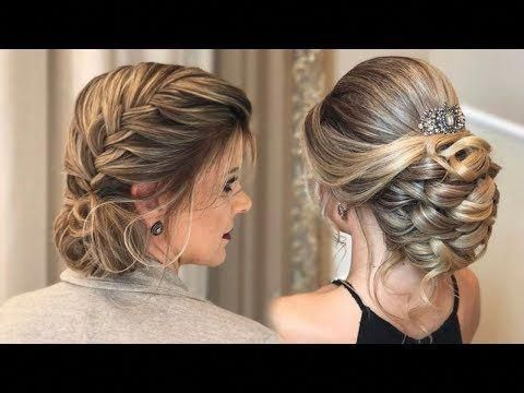 Peinados Hermosos y Elegantes Compilación - Beautiful and Elegant Hairstyles Compilation 2017 - YouTube #Diyhairstyles