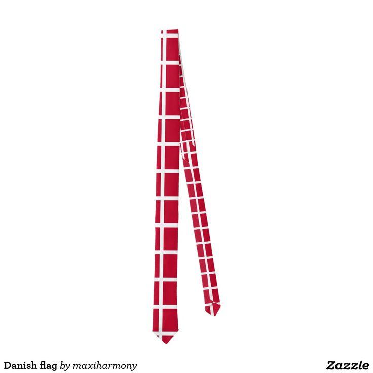 Danish flag tie
