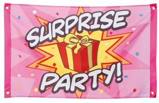 Throwing a surprise party is a great way to show people how much they mean to you; they will appreciate the time and effort that has been put in to organise the party perfectly and the fact that you've managed to keep it a surprise for so long. However