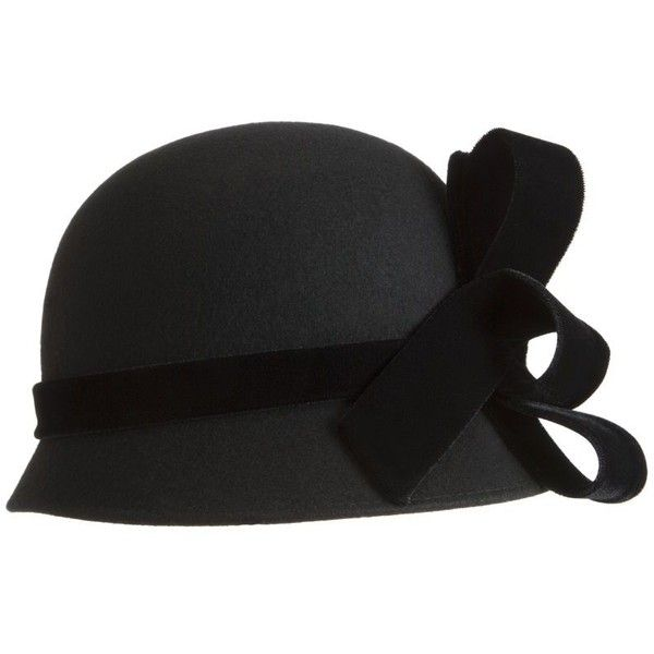 John Lewis Bell Shaped Occasion Hat, Black (€61) ❤ liked on Polyvore featuring accessories, hats, black, chapeu, cappelli, women's hats, john lewis, john lewis hats and black hat
