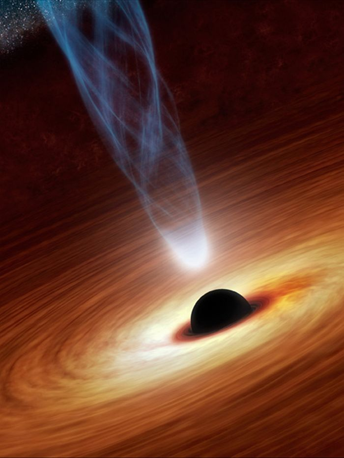 "Scientists say: The discovery of a SuperMassive BLACK HOLE from The""Early"" Cosmos is set to rewrite Physics..!! 
