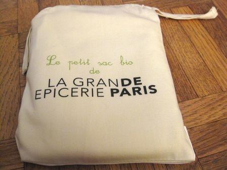 La Grande Épicerie de Paris Shopping Bag: A great reminder of a visit to the marvelous delicatessen boutique inside 'Le Bon Marché', Paris' oldest department store.  The people watching alone is worth the trip.