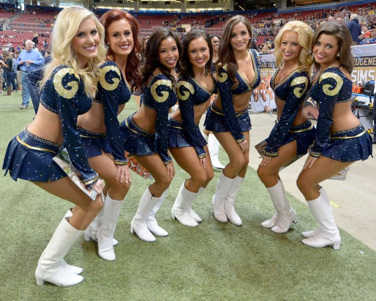 Top 26 NFL Cheerleading Squads