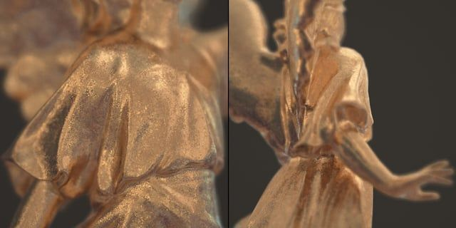 Take advantage of V-Ray 3.3 VRayOSLTex to create realistic gold material For…