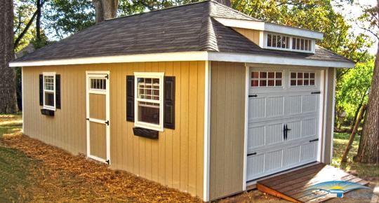 Prefab & Portable Garages | Prefab Garages | Horizon Structures